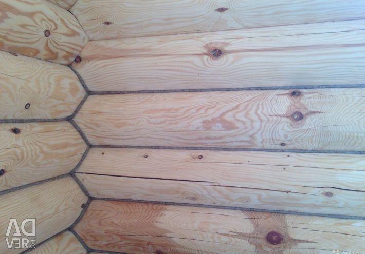Στεγανοποίηση ξύλινων σπιτιών