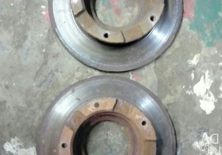 Rear Brake Discs Ford Transit