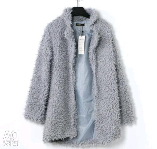 Пальто пухнасте нове