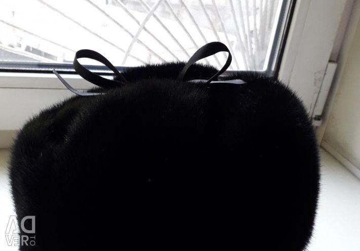 Νέο καπέλο γούνας.