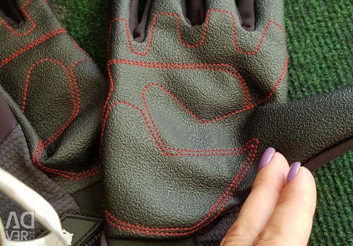 Мото-перчатки жен.