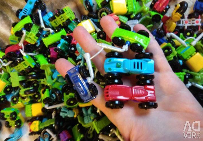 Mașini Kinder și motociclete 130 de piese