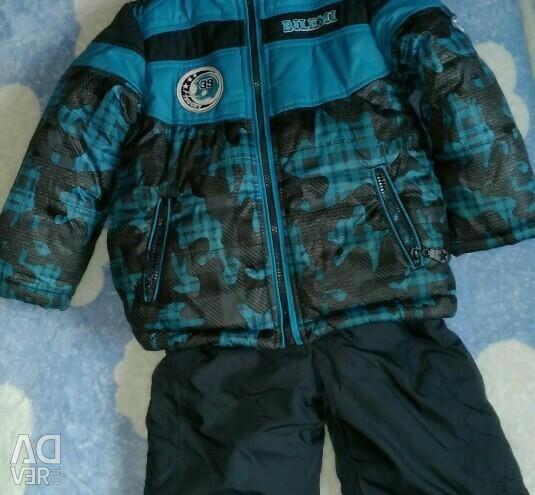 Suit winter size 92