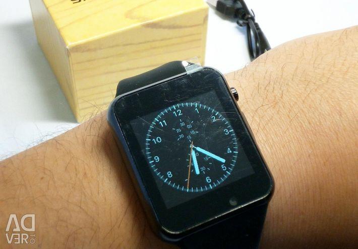 🔥 Έξυπνο ρολόι Smart Watch W8 Χάλκινο Νέο