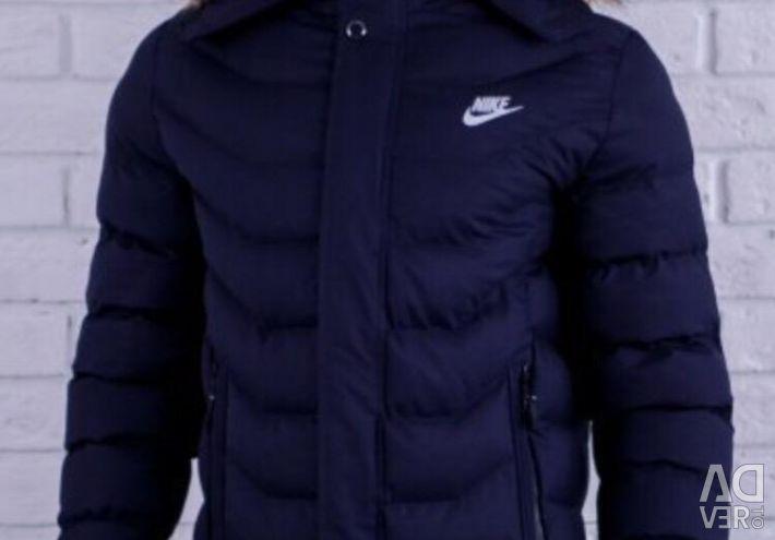 Nike sacou albastru închis