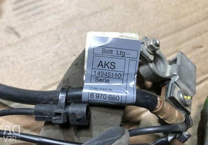6112 6970680 Αρνητικό καλώδιο για μπαταρία BMW