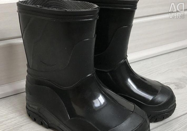 Нові гумові чоботи Каурі 24р