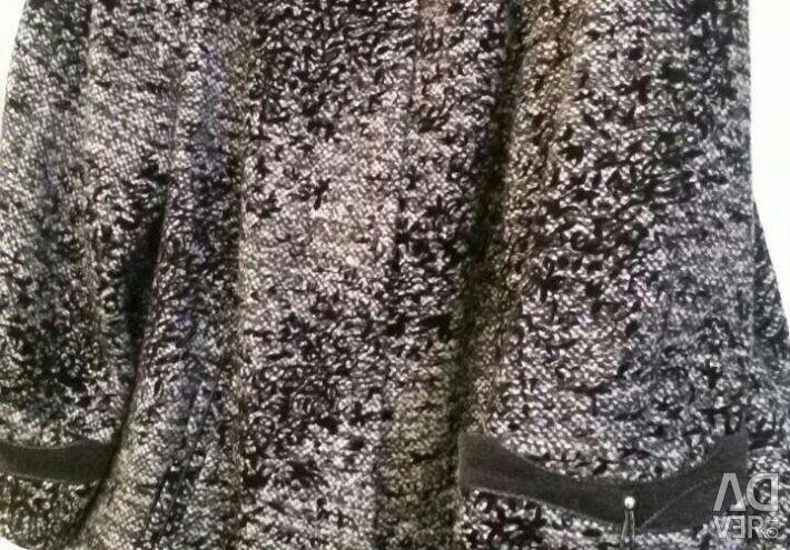 Ντυμένο παλτό νέο