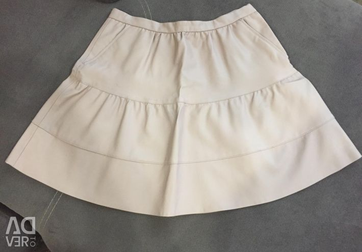 """Skirt """"reserved"""" new eco-leather"""