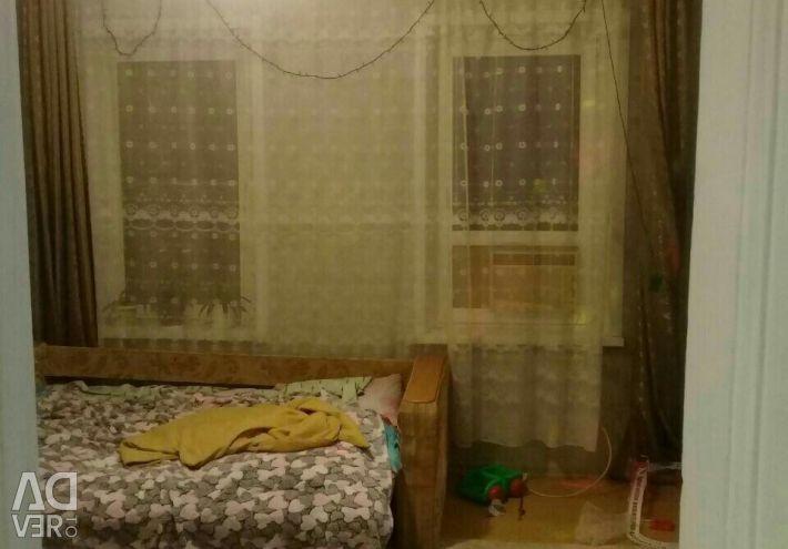 Apartment, 3 rooms, 36.3 m²