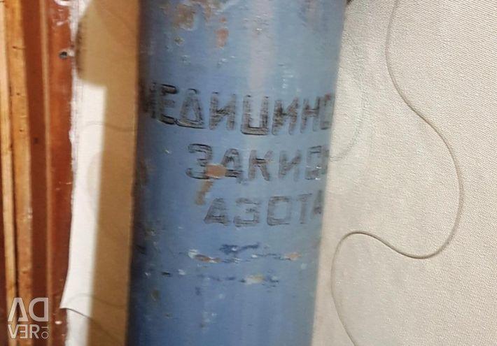 Helyum için silindir 10 litre