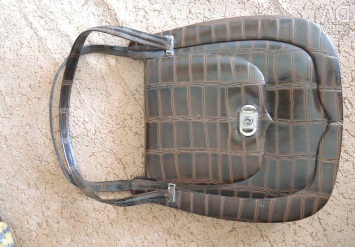 Bag of vintage brown