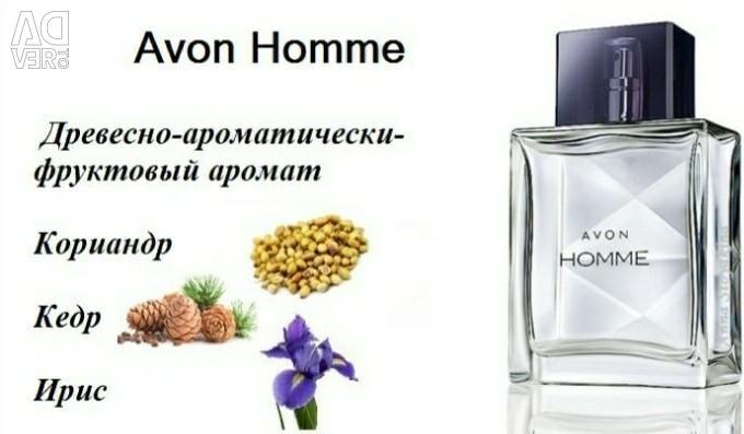 Men's Eau De Toilette Water Avon Homme