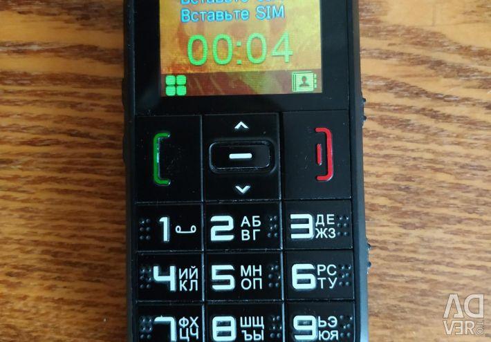 Телефон expley з великими кнопками