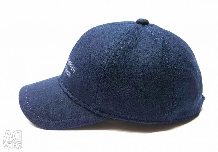 AJ Armani Jeans вовняна бейсболка кепка