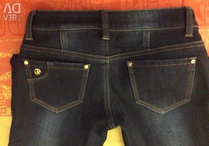 Jeans are warm 25 size. Long