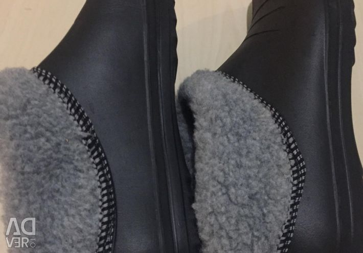 New galoshes boots