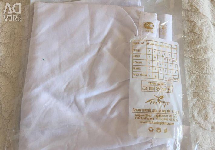 New white leggings