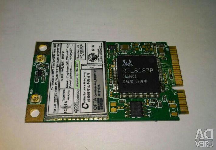 Wi-Fi κάρτα για φορητό υπολογιστή