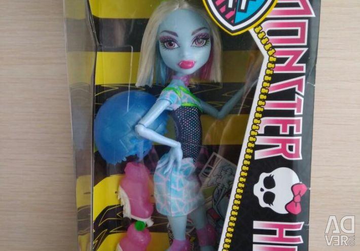 Monster High Abby Roller Doll