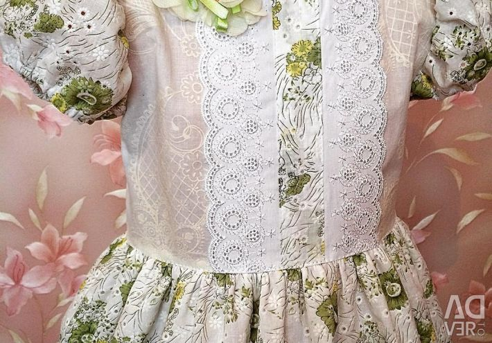 New Cotton dress, for growth 104
