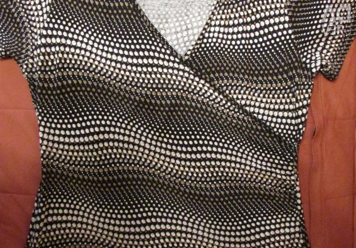Трикотажная блуза р.48-50