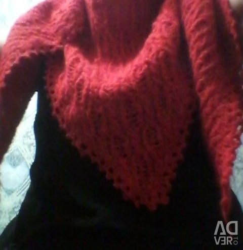 I knit myself Knitted bactus from mohair handmade