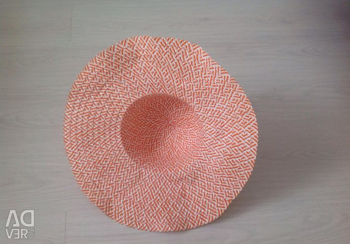 A hat with wide margins
