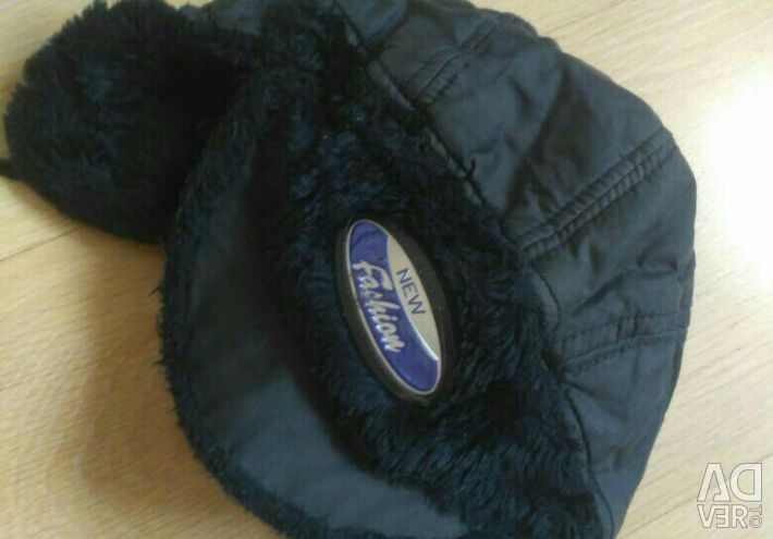 Χειμερινό καπέλο με αυτιά