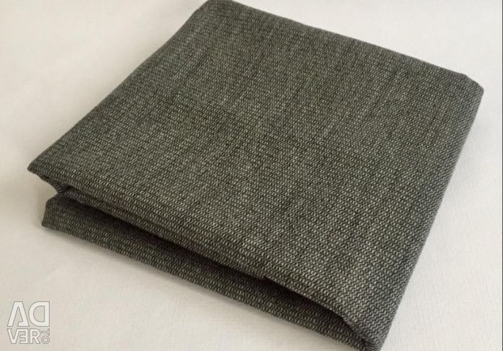 Отрез ткани Серая ткань 158 * 134 для пошива