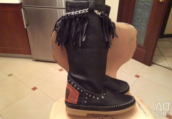 Femeile cizme noi piele din Italia 🇮🇹