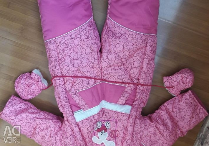 New winter overalls for a girl