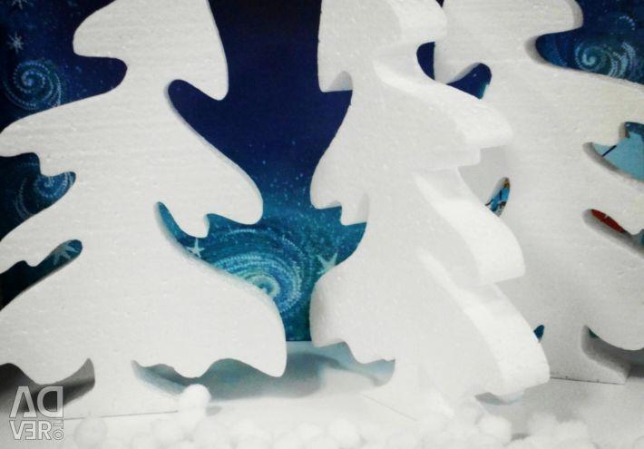 Spuma de plastic din piept de 17 cm pentru jucarii