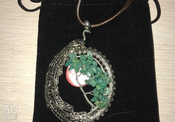 Pendant natural stones