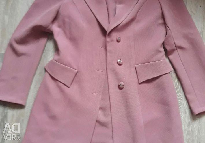 Rochie și jachetă de budincă