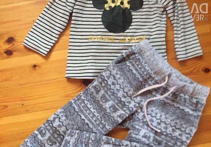 Брюки, джинсы для девочки 2-3 года