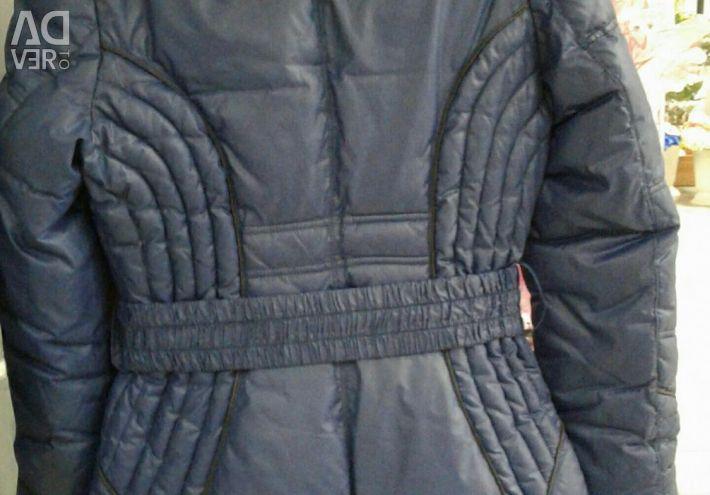 Пальто на дівчинку (пуховик)