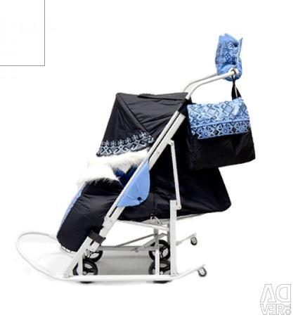 Sled stroller MY CHILDHOOD