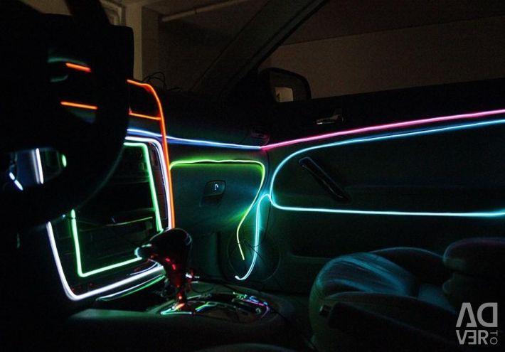 Cold flexible neon