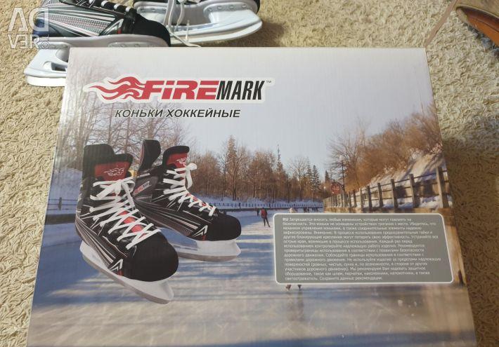 Hockey skates new 40 size