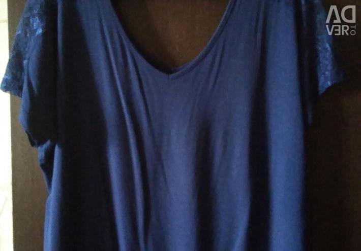 Bluze pentru femei de dimensiuni 48-50, 3 buc. Diferite, noi