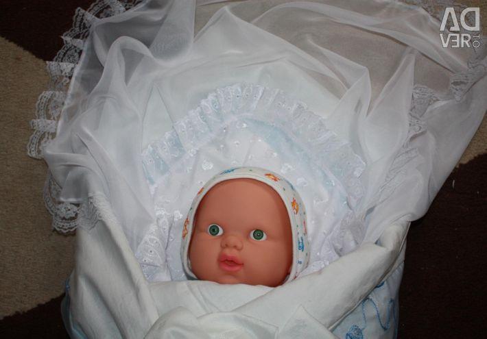 Plic nou pentru un extract pentru un nou-născut