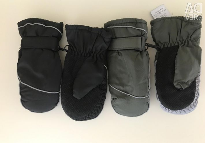 Mittens for baloon Gaiters new 4-6 years