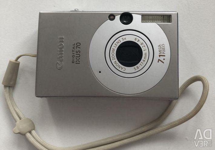 Ψηφιακή κάμερα Canon ixus 70 της Canon