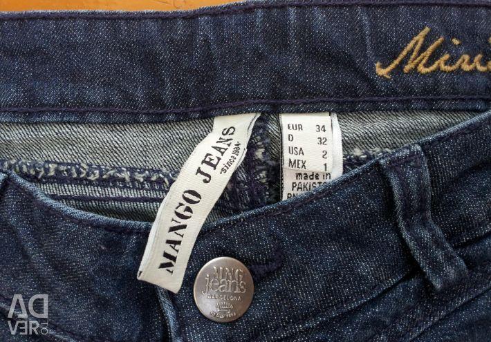 Новые джинсы mango размер 42