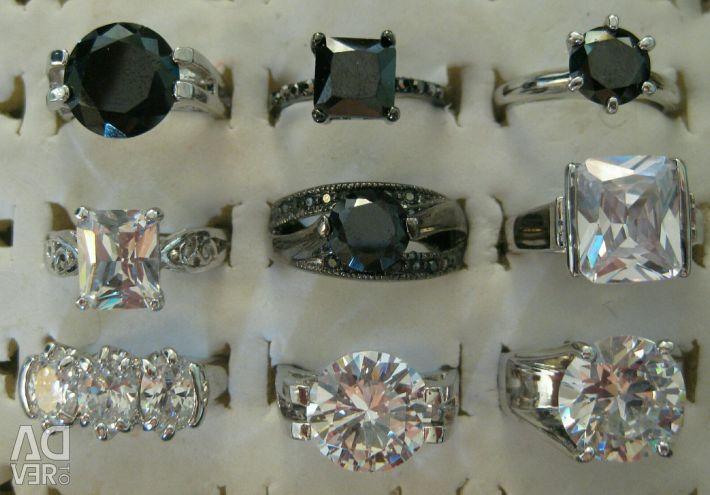 Δαχτυλίδια 34 είδη