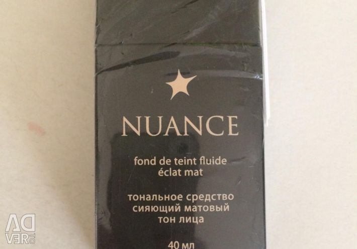 Foundation tool (cream) for the face NUANCE 121