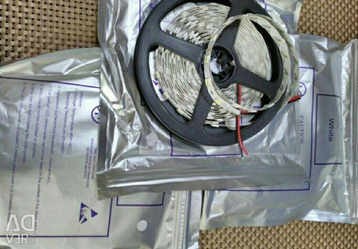 Светодиодной лента smd 5050 белая