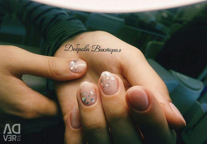 Pedicure manicure