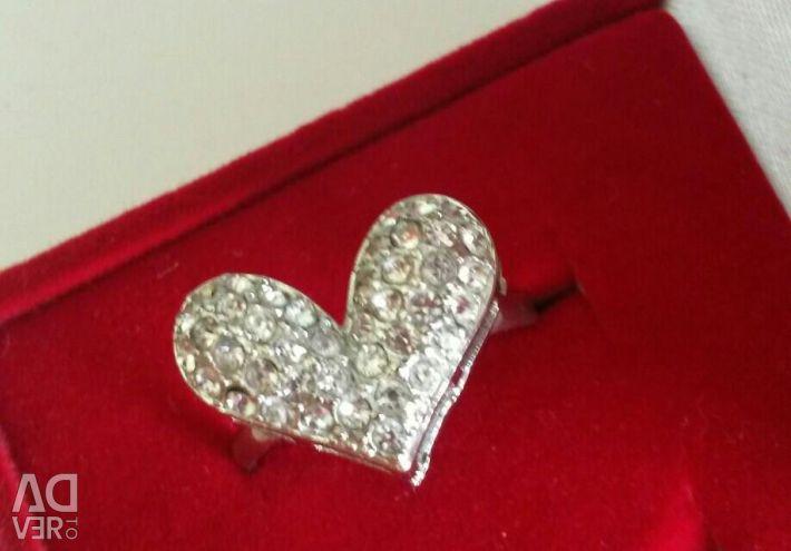 Ring Heart 17razm.